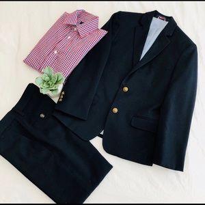 Tommy Hilfiger - Boys Navy Suit, Size 10